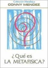 Que Es la Metafisica by Connie Mendez (1997, Tapa blanda - Español)