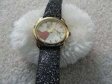 "Ladies Quartz Watch - ""Angel blowing a horn"" on the Dial"