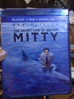 The Secret Life of Walter Mitty (Blu Ray DVD ) Ben Stiller---NEW SEALED !