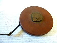Vintage 'K' 100F German Make Best Leather Case Steel Tape Measure