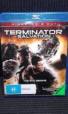Terminator Salvation Blu-Ray DVD - Ex-Rental - Christian Bale - Sam Worthington
