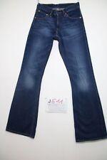 Levis 516 bootcut (Cod.J611) Tg.42 W28 L34 jeans usato boyfriend donna