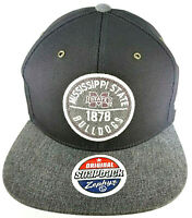 Zephyr Original Snapback Cap Mississippi State Bulldogs NCAA Flat Bill Hat