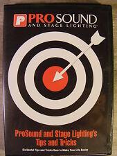 Pro Sound and Stage Lighting's Tips and Tricks (DVD, 2002) Setup Tips for DJ's