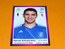 95 KATSOURANIS HELLAS GRECE FOOTBALL PANINI UEFA EURO 2012