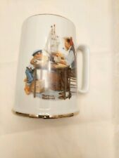 """Norman Rockwell Museum """"For A Good Boy"""" Mug Cup *Excellent* Free Shipping"""