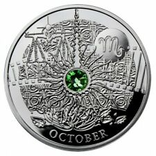 Niue 2013 1$ OCTOBER The Magic Stones of Happiness Proof silver Coin