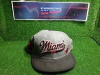 Vtg 00s Miami heat  new era nba basketbaLl snap back cap film movie prop
