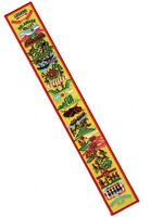 OA Legend Strip Yellow Felt Background Plastic Back Order of the Arrow Sash