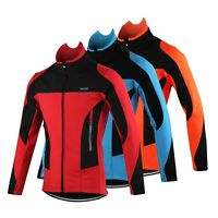 Thermal Cycling Jacket Winter Bicycle Clothing Windproof Sport Coat For MTB Bike