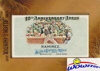 2015 Topps Allen+Ginter 10th Anniversary Hanley Ramirez Mini BUYBACK From 2010