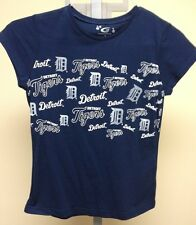 G-III Detroit Tigers Navy T-shirt Womens Sample Medium NWOT