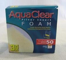 AquaClear Aqua Clear 200 Hagen Filter Insert Foam 20-50 Gallon # 50 3 Pack