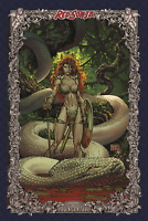 RED SONJA AGE OF CHAOS #3 1:75 MICHAEL TURNER VARIANT NM- (PRIORITY & FREE INS)