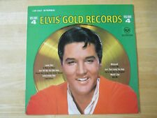 Elvis Presley LP, Elvis' Gold Records Volume 4, RCA # LSP-3921, Made in Germany