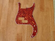 PICKGUARD RED TORTOISE SHELL 4 PLY FOR P BASS / PRECISION BASS