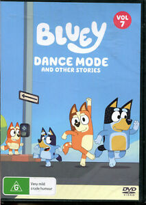 Bluey Dance Mode and Other Stories Volume 7 DVD NEW
