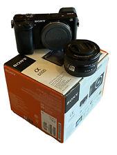 Sony Alpha a6000 Mirrorless Digital Camera 24.3 MP SLR Camera - Barely Used