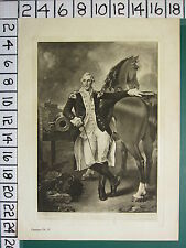 c1805 ANTIQUE PRINT ~ GENERAL GEORGE WASHINGTON