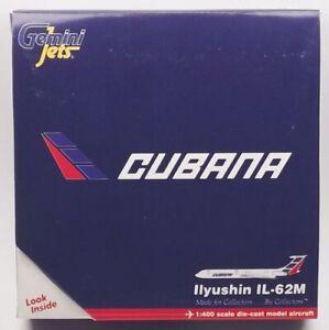 GeminiJets GJCUB688 Cubana IL-62M 'CU-T1284' 1/400 Scale Diecast Model