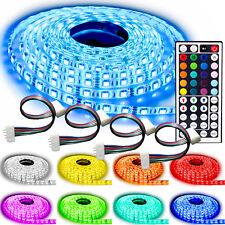 NINETEC Flash60 Profi-Set 5m RGB LED Strip e Band wasserdicht IP65 + 4 Verbinder