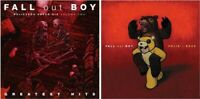 FALL OUT BOY Believers Never Die - Volume Two PLUS Folie A Deux 2 CD NEW