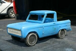 Gay Toys Ford Bronco plastic pickup truck - USA