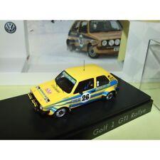 VW GOLF GTi 1 N°26 RALLYE MONTE CARLO 1980 P. EKLUND SPARK  1:43 5ème