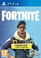 (PS4) Fortnite Bomber Ski n + 500 V-Bucks (EU-no UK) [PSN]