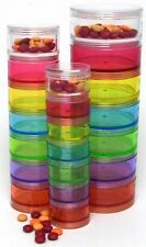 Stackable 7 Day Pill Organizer - Large 7/2 in ITEM #370