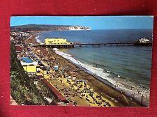m2r postcard used 1966 sandown isle of wight