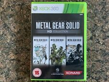 Metal Gear Solid HD Collection Boxed Xbox 360