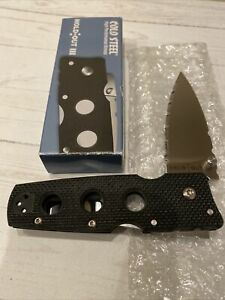 cold steel knife Hold Out 3