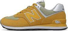 New Balance Ml574ssj, Sneaker. Uomo - ML574SSJ SUEDE/MESH YELLOW