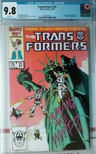 Transformers #23 CGC 9.8 1985 Marvel Comic Herb Trimpe cover see my other listin