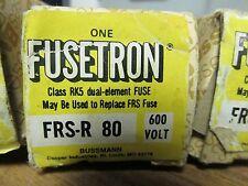 * FUSETRON DUAL-ELEMENT FRS-R-80 80 AMP FUSE   ...... VE-69A