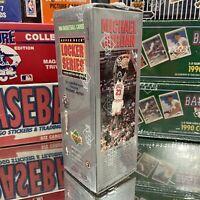 1991-92 Upper Deck NBA Locker Series Basketball Cards Box 3 of 6 Factory Sealed