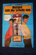 Kino Plakat - Morgen fällt die Schule aus 1971 Heintje Hansi Kraus Lümmel 1.Bank