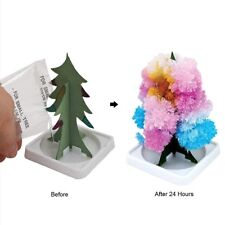 Magic Growing Christmas Tree Crystal Paper Tree Christmas Decoration Toy Handsom