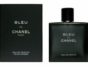 Bleu De Chanel Eau de Parfum Men's 3.4oz / 100 ml - Brand New, Sealed