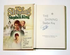 STEPHEN KING SIGNED 'THE SHINING' HARDCOVER HC BOOK w/COA BCE CLUB EDITION PROOF