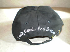 NEW - Look Good, Feel Better Ladies Cancer Baseball Hat in Black