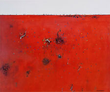 Fred WILLIAMS  'Red Landscape' Australian Modern Art - out of print so buy now