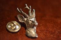 Jagd und Trachten Rehbock PIN 925 Sterlingsilber