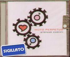 """STEFANO ZARFATI """" MOTO PERPETUO """" CD SIGILLATO RTI 1998"""
