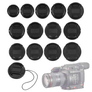 Universal Accessory Anti-lost Photograph Front Cover Snap-On Lens Cap Camera