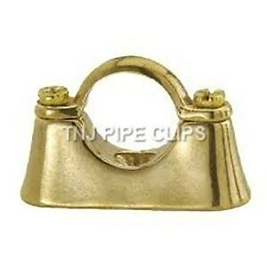 Brass Hospital Bracket - 15mm, 22mm, 28mm, 35mm, 42mm, 54mm - Pipe Clips