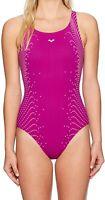 Arena Womens Swimwear Grape Purple Size 38 BodyLift Barbara One-Piece $77 671