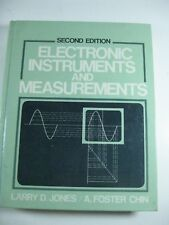 Hardcover Electronic Instruments and Measurements, 2nd Edition, Jones/Chin, 1991
