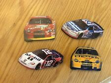 Lot Of 4 NASCAR Magnets , #12, Q6 And 26 Taurus, And #25 Monte Carlo